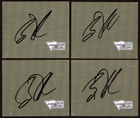 "Brian Vickers Signed 2.5"" x 3"" Metal Cut (Fanatics Hologram) (See Description) at PristineAuction.com"