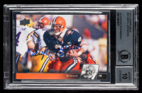Daryl Johnston Signed 2011 Upper Deck #41 (BGS Encapsulated) at PristineAuction.com