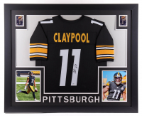 Chase Claypool Signed 35x43 Custom Framed Jersey Display (Beckett COA) at PristineAuction.com