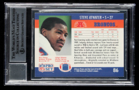 Steve Atwater Signed 1990 Pro Set #86 (BGS Encapsulated) at PristineAuction.com
