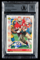 Tom Rathman Signed 1993 Upper Deck #505 (BGS Encapsulated) at PristineAuction.com