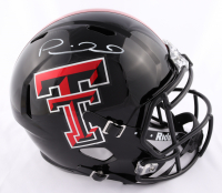 Patrick Mahomes Signed Texas Tech Red Raiders Full-Size Speed Helmet (JSA COA) at PristineAuction.com