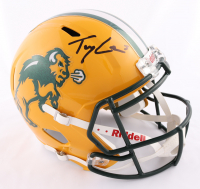 Trey Lance Signed North Dakota State Bison Full-Size Speed Helmet (Beckett COA) at PristineAuction.com