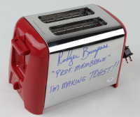 """Rodger Bumpass Signed """"Invader Zim"""" Toaster Inscribed """"Prof Membrane"""" & """"I'm Making Toast!!"""" (PSA COA) at PristineAuction.com"""