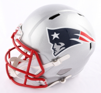 N'Keal Harry Signed Patriots Full-Size Speed Helmet (Beckett COA) at PristineAuction.com