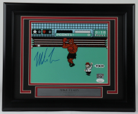 """Mike Tyson Signed """"Punch-Out!!"""" 13.5x16.5 Custom Framed Photo Display (JSA COA & Fiterman Sports Hologram) at PristineAuction.com"""