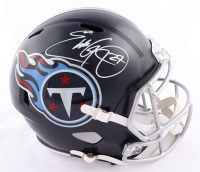 Eddie George Signed Titans Full-Size Speed Helmet (Beckett COA) at PristineAuction.com