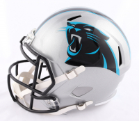 D.J. Moore Signed Panthers Full-Size Speed Helmet (Beckett COA) at PristineAuction.com