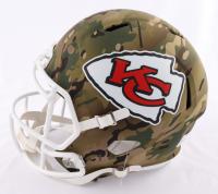 Patrick Mahomes Signed Chiefs Full-Size Camo Alternate Speed Helmet (Beckett COA) at PristineAuction.com