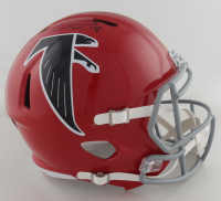 Calvin Ridley Signed Falcons Full-Size Speed Helmet (Beckett COA) at PristineAuction.com