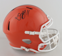 Donovan Peoples-Jones Signed Browns Full-Size Speed Helmet (Beckett Hologram) at PristineAuction.com