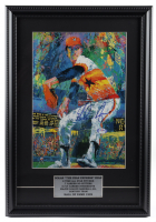 Nolan Ryan Signed Astros 14x20 Custom Framed LeRoy Neiman Art Print Display (PSA COA) at PristineAuction.com