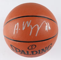 Andrew Wiggins Signed NBA Game Ball Series Basketball (Fanatics Hologram) at PristineAuction.com