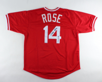 "Pete Rose Signed Jersey Inscribed ""4256"" (JSA COA & Fiterman Sports Hologram) at PristineAuction.com"