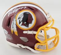 Dwayne Haskins Signed Redskins Speed Mini Helmet (Beckett COA) at PristineAuction.com