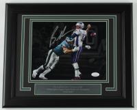 Brandon Graham Signed Eagles 13.5x16.5 Custom Framed Photo Display (JSA COA) at PristineAuction.com