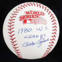 "Pete Rose Signed 1980 World Series Baseball Inscribed ""1980 W.S. Champs"" (Beckett COA & Fiterman Sports Hologram) at PristineAuction.com"