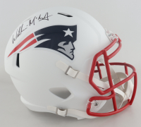 Willie McGinest Signed Patriots Full-Size Matte White Speed Helmet (Beckett COA) at PristineAuction.com