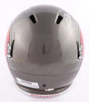 "Ronald Jones II Signed Buccaneers Full-Size Speed Helmet Inscribed ""SB LV Champs"" (Beckett COA) at PristineAuction.com"