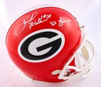 "Herschel Walker Signed Georgia Bulldogs Full-Size Helmet Inscribed ""82 Heisman"" (Beckett COA) at PristineAuction.com"