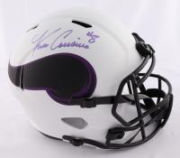 Kirk Cousins Signed Vikings Full-Size Lunar Eclipse Alternate Speed Helmet (Beckett COA) at PristineAuction.com