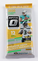 2020 Panini Donruss Optic NFL Football Cello Pack with (12) Cards (See Description) at PristineAuction.com