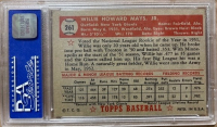 Willie Mays 1952 Topps #261 (PSA 6) at PristineAuction.com