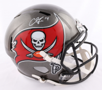 Chris Godwin Signed Buccaneers Full-Size Speed Helmet (Beckett COA) at PristineAuction.com