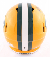 Aaron Jones Signed Packers Full-Size Speed Helmet (Beckett COA) at PristineAuction.com