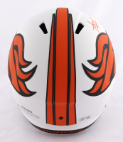 Steve Atwater Signed Broncos Full-Size Lunar Eclipse Alternate Speed Helmet (Beckett Hologram) at PristineAuction.com