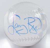 Larry Bird Signed Mini Lead Crystal Basketball (PSA COA) (See Description) at PristineAuction.com
