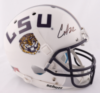 Clyde Edwards-Helaire Signed LSU Tigers Full-Size Helmet (Beckett Hologram) at PristineAuction.com