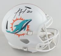 Xavien Howard Signed Dolphins Full-Size Speed Helmet (JSA COA) at PristineAuction.com