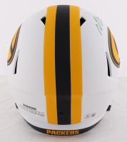 Davante Adams Signed Packers Full-Size Lunar Eclipse Alternate Speed Helmet (Beckett Hologram) at PristineAuction.com