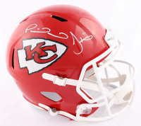Patrick Mahomes & Tyreek Hill Signed Chiefs Full-Size Speed Helmet (Beckett COA) at PristineAuction.com