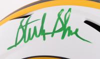 Sterling Sharpe Signed Packers Full-Size Lunar Eclipse Alternate Speed Helmet (Beckett Hologram) at PristineAuction.com