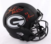 "Herschel Walker Signed Georgia Bulldogs Full-Size Eclipse Alternate Speed Helmet Inscribed ""82 Heisman"" (Beckett COA) at PristineAuction.com"