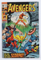 """1969 """"The Avengers"""" Issue #72 Marvel Comic Book at PristineAuction.com"""