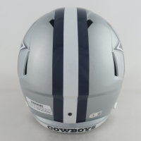 Ezekiel Elliott Signed Cowboys Full-Size Speed Helmet (Beckett Hologram) at PristineAuction.com