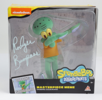 "Rodger Bumpass Signed ""Dabbing Squidward"" SpongeBob SquarePants Masterpiece Meme Collectible Figure (PSA Hologram) at PristineAuction.com"