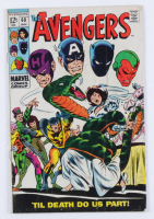"""1968 """"The Avengers"""" Issue #60 Marvel Comic Book (See Description) at PristineAuction.com"""
