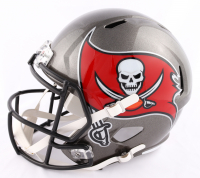 """Chris Godwin Signed Buccaneers Full-Size Speed Helmet Inscribed """"SB LV Champs"""" (Beckett COA) at PristineAuction.com"""