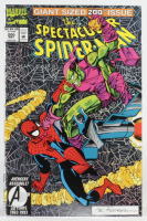 "Vintage 1993 ""Spectacular Spider-Man"" Vol. 1 Issue #200 Special Edition Aluminum Foil Marvel Comic Book at PristineAuction.com"
