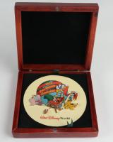 Vintage Disney World 2000 Cast Holiday Celebration (5) Pin Set with Case (See Description) at PristineAuction.com