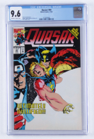 """1992 """"Quasar"""" Issue #40 Marvel Comic Book (CGC 9.6) at PristineAuction.com"""