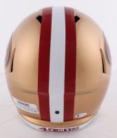 Joe Montana Signed 49ers Full-Size Speed Helmet (Beckett COA) at PristineAuction.com