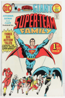 """Vintage 1975 """"Super-Team Family"""" Issue #195 DC Comic Book (See Description) at PristineAuction.com"""