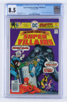 "1976 ""Secret Society of Super Villains"" Issue #1 DC Comic Book (CGC 8.5) at PristineAuction.com"