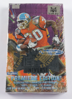 1997 Skybox Metal Universe Football Card Box With (24) Packs at PristineAuction.com