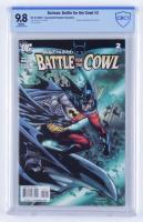 "2009 ""Batman: Battle For The Crowl"" 1:10 Variant Issue #2 D.C Comic Book (CBCS 9.8) at PristineAuction.com"